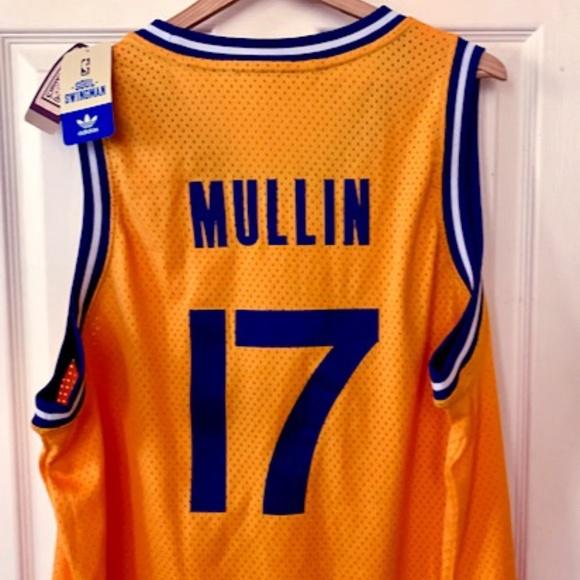 Chris Mullin Adidas NBA Jersey Warriors 85-86 XXL